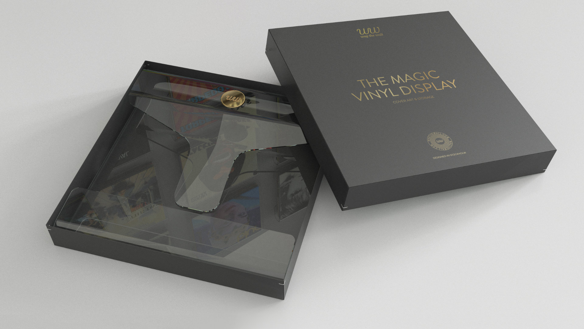 Magic Vinyl Display-Box